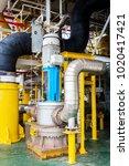 industry large vertical motor...   Shutterstock . vector #1020417421