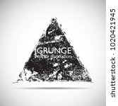 grunge post stamps collection ... | Shutterstock .eps vector #1020421945