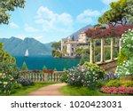 italy  beautiful coast | Shutterstock . vector #1020423031