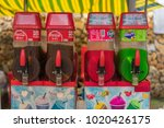 editorial use only  soft drinks ...   Shutterstock . vector #1020426175