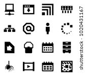 origami style icon set  ... | Shutterstock .eps vector #1020431167