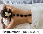 young beautiful asian woman... | Shutterstock . vector #1020437071