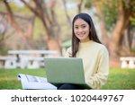 asian women university...   Shutterstock . vector #1020449767