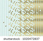 elegant gold and pale green... | Shutterstock .eps vector #1020472837