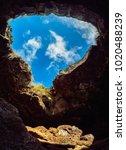 Small photo of Ana Te Pahu Cave, Rapa Nui National Park, Easter Island, Chile