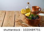 stuffed grape leaves with rice...   Shutterstock . vector #1020489751