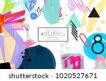 abstract universal art web... | Shutterstock .eps vector #1020527671