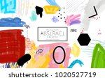abstract universal art web... | Shutterstock .eps vector #1020527719