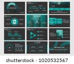 green bundle infographic... | Shutterstock .eps vector #1020532567