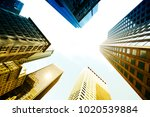 boston skyscrapers from below   Shutterstock . vector #1020539884