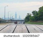 selective focus image of top... | Shutterstock . vector #1020585667