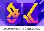 trend template background...   Shutterstock .eps vector #1020590437