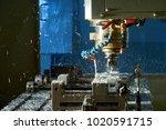 metalworking cnc milling... | Shutterstock . vector #1020591715