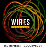 electrical wires of different