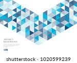 abstract background with the... | Shutterstock .eps vector #1020599239