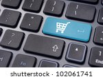 message on keyboard pad  for...   Shutterstock . vector #102061741