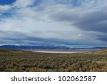 High Desert Along Jeep Road To...