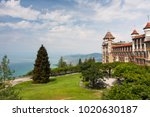 the caux palace overlooking... | Shutterstock . vector #1020630187