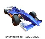 blue formula one isolated | Shutterstock . vector #10206523