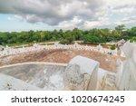 mya thein tan pagoda  mingun ... | Shutterstock . vector #1020674245