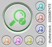 extending search results color... | Shutterstock .eps vector #1020687475