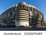 madrid  spain   january 21 ... | Shutterstock . vector #1020695689