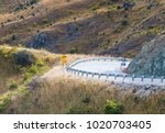 aerial image of a roadway...   Shutterstock . vector #1020703405