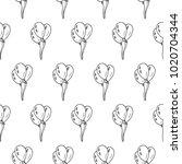 baloons seamless vector pattern | Shutterstock .eps vector #1020704344