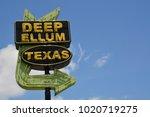 dallas  texas   united states   ... | Shutterstock . vector #1020719275