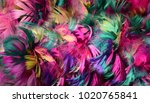background of colorful chicken... | Shutterstock . vector #1020765841