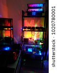 Small photo of in-house mining machine with beautify light effect