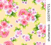 abstract elegance seamless... | Shutterstock .eps vector #1020795721
