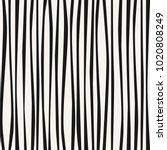 wavy line pattern  seamless... | Shutterstock .eps vector #1020808249
