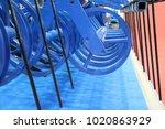 plough. harrow. cultivator.  | Shutterstock . vector #1020863929