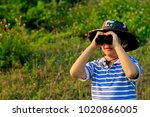 little asian boy with...   Shutterstock . vector #1020866005