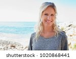 portrait of beautiful middle... | Shutterstock . vector #1020868441