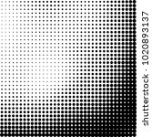 halftone black and white... | Shutterstock .eps vector #1020893137