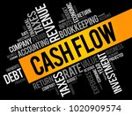 cash flow word cloud collage ... | Shutterstock .eps vector #1020909574