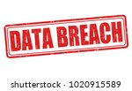 data breach sign or stamp on... | Shutterstock .eps vector #1020915589