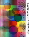 color abstract smooth vector... | Shutterstock .eps vector #1020920671