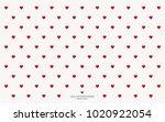 Mini Hearts Wallpaper