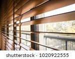 pattern of the wooden shutters... | Shutterstock . vector #1020922555