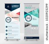 business roll up design... | Shutterstock .eps vector #1020923299