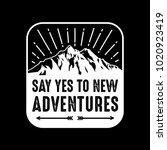 new adventures. 100  vector... | Shutterstock .eps vector #1020923419
