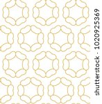 seamless ornamental vector... | Shutterstock .eps vector #1020925369