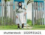 danube delta  romania  2nd of... | Shutterstock . vector #1020931621