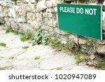 notification wooden board scene.   Shutterstock . vector #1020947089