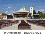 medjugorje   bosnia and...   Shutterstock . vector #1020967021