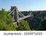 historic landmark of the... | Shutterstock . vector #1020971035