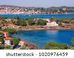 spain. catalonia. cadaques on... | Shutterstock . vector #1020976459